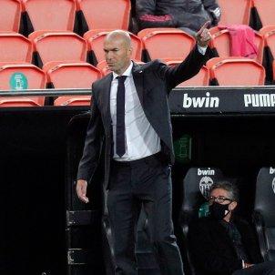Zidane Valencia Reial Madrid 20/21 EFE