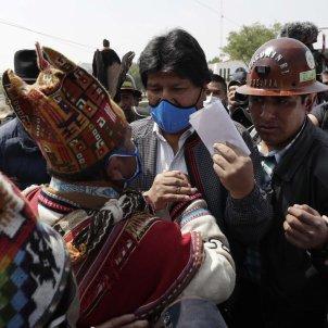 evo morales retorn bolivia - efe