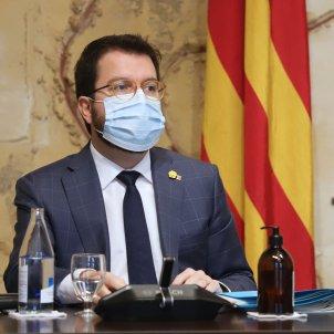 Pere Aragonès Consell Exectiu Ruben Moreno