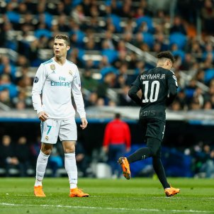 Neymar PSG Cristiano Reial Madrid Europa press