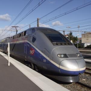 TGV Estació Perpinyà Viquipèdia Own Work