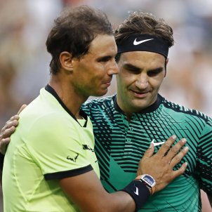 Rafa Nadal Roger Federer Indian Wells EFE