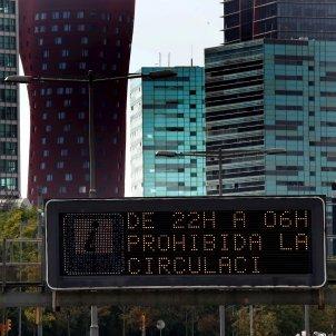 restriccions toc de queda coronavirus Barcelona EFE