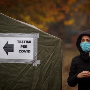 coronavirus kosovo tests efe