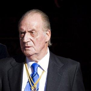 Joan Carles trist i seriós GTRES