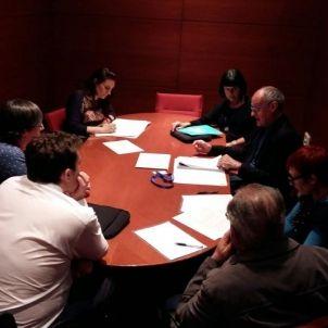 Reunió Comissió de la Dignitat