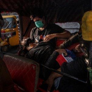 manifestando protestas Iraq 2019 Ricardo García Vilanova World Press Photo