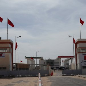 Guerguerat frontera Marroc Mauritània Sahara Occidental EFE