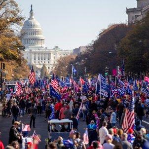 manifestació pro Trump Washington contra consideran fraude / EFE