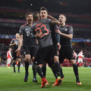 Bayern Munic Arsenal Champions League EFE