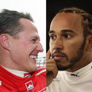 Michael Schumacher Lewis Hamilton EuropaPress