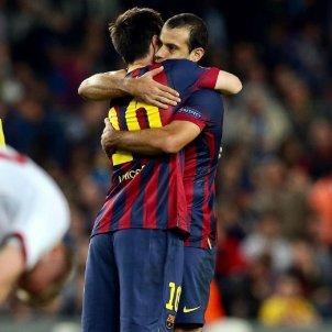 Messi Mascherano Instagram @leomessi