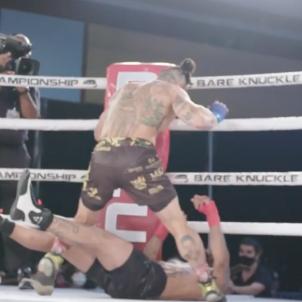 Ulysses Díaz boxe @bareknucklefc