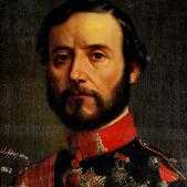 Test 117. El general Prim. Retrat del general Prim. Font Museu Victor Balaguer. Vilanova i la Geltrú