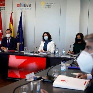 Govern Comunitat Madrid Ayuso Aguado EFE