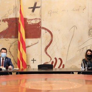 Aragonès Budó consell executiu  / Jordi Bedmar