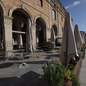 Bars locals terrassa tancats buits coronavirus covid-19 crisi Hosteleria restauracio - Sergi Alcazar