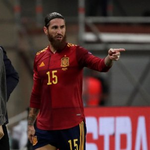 Sergio Ramos Espana seleccio espanyola EFE