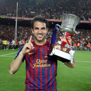 Cesc Fabregas Barca FC Barcelona