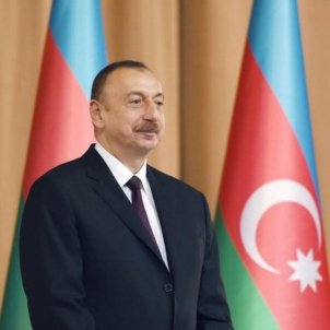 Ilham aliyev, president Azerbaidjan Govern Azerbaiyán