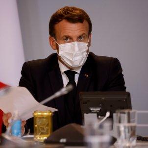 Macron covid frança-Efe