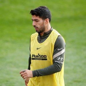 Luis Suarez Atletic de Madrid entrenament Europa Press