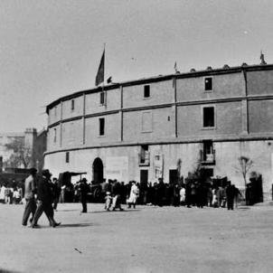 Ofensiva franquista per a imposar el cante jondo i els toros a Catalunya. Plaça de bous d'El Torin (principis del segle XX). Font Blog Barcelofilia