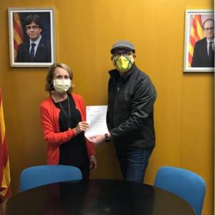 Consell local Amer moció antimonàrquica
