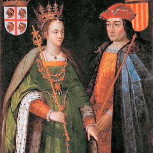 Mor Garcia Ramirez, el rei navarrés que volia impedir la unió dinàstica catalano aragonesa. Retrat imaginar de Ramon Berenguer i Peronella (segle XVII) Font Museu del Prado