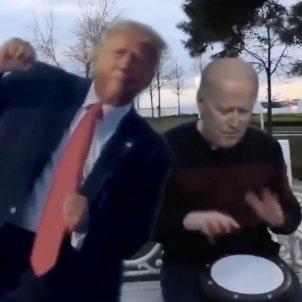 Trump Biden gat @GironaFC