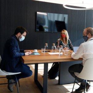 reunió govern aragonès - ACN