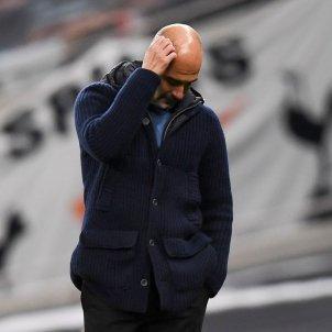 Guardiola trist Manchester City EFE