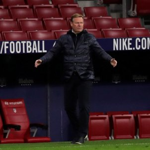 Ronald Koeman Barca Atletic Madrid EFE