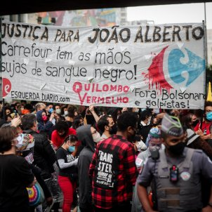 protestes antiracistes Brasil - Efe