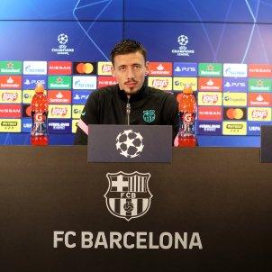 Lenglet roda premsa Barça FC Barcelona