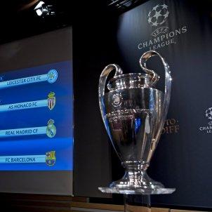 Champions League quarts de final quadre i Copa EFE