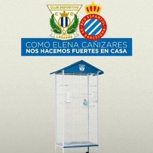 Cartell Leganes Espanyol CD Leganes
