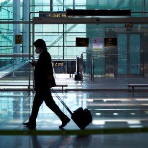 aeroport coronavirus Barcelona EFE