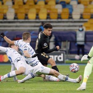 Coutinho Barca Dinamo Kiev champions EFE