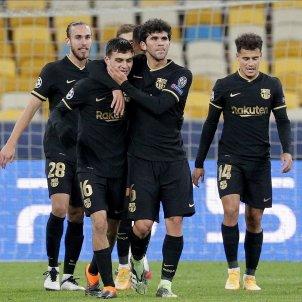 Barca celebracio gol Champions EFE