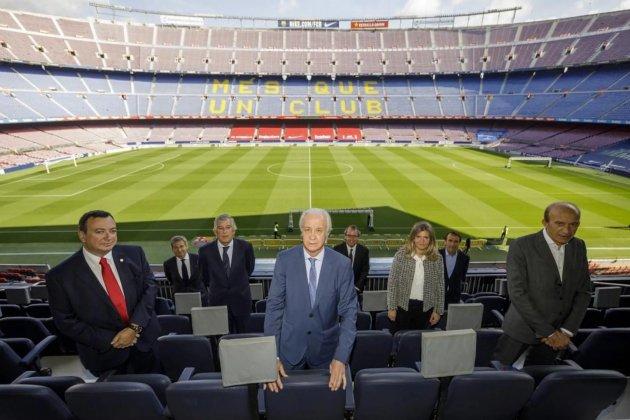 Presidente interino de Barcelona: