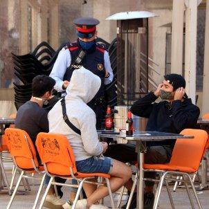 Mossos control  terrasses bars restaurants coronavirus Tarragona ACN