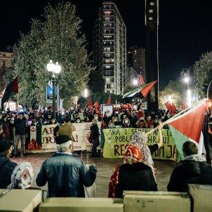 manifestacio sahara occidental tarragona - @UFMSaharaLliure