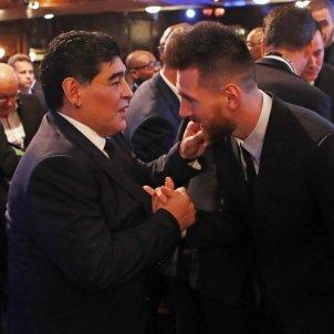 Maradona Messi @leomessi