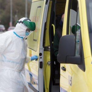 EuropaPress San Cibrao Lugo Galicia Covid enfermer