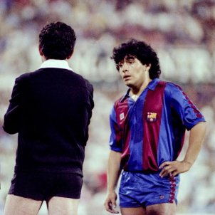 Maradona Barca FC Barcelona