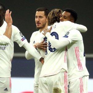 Reial Madrid celebracio gol Inter Mila EFE