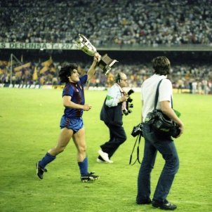 Maradona Copa Barca FC Barcelona