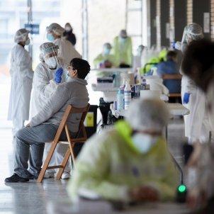 test cribratge Olot coronavirus EFE