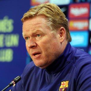 Koeman roda de premsa Barca FC Barcelona